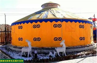 山东蒙古包价格客户案例