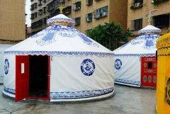 9米帆布旅游蒙古包